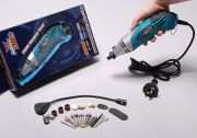 160W Dremel Style Rotary Hand-Tool w/ 33pc Set 230V (EU Warehouse)