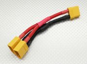 XT90 Battery Harness 10AWG for 2 Packs in Parallel (AR Warehouse)