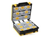 Plastic Multi-Purpose Organizer - Gatefold Style 12 Compartments