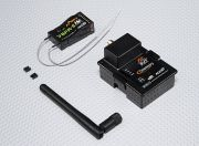 SCRATCH/DENT - FrSky DJT 2.4Ghz Combo Pack for JR w/Telemetry & V8FR-II RX E1142 (UK Warehouse)