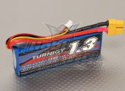 Turnigy 1300mAh 2S 20C Lipo Pack (Suit 1/18th Truck) (US Warehouse)