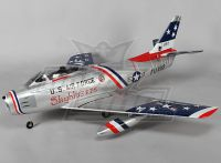 F-86 Skyblazer EDF Jet 70mm Electric Retracts, Flaps, Airbrake, EPO (PNF)