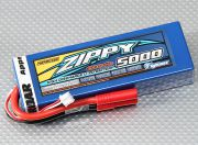 ZIPPY 5000mAh 2S1P 30C Hardcase Pack (ROAR APPROVED) (AU Warehouse)