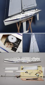 RC Sailboat Surmount (AU Warehouse)