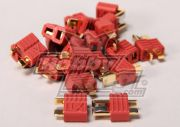 Nylon T-Connectors 10 Pairs (20pc) (US Warehouse)