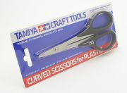 Tamiya Curved Scissors for Plastic