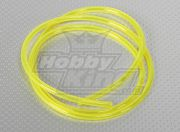 Silicon fuel pipe (1 mtr) Yellow for Gas/Glow Engines 4.8x2.5mm (EU Warehouse)