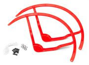 9 Inch Plastic Multi-Rotor Propeller Guard for DJI Phantom 2 - Red (2set)