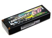 Turnigy nano-tech Ultimate 6600mah 2S2P 90C Hardcase Lipo Pack (ROAR & BRCA Approved) (US Warehouse)