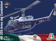 Italeri 1/48 Scale AB-205 Carabinieri Plastic Model Kit