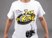 'I Am The King' HobbyKing T-Shirt (Large) - Refund Offer (EU Warehouse)