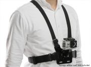 4 Point Chest Mount Harness For GoPro / Turnigy Action Cam