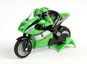 Allegro Micro Sport Bike 1/20th Scale Motorcycle (RTR) (Green) (AR Warehouse)