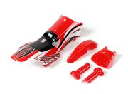Body Shell Sets (Red) - Super Rider SR4 1/4 Scale Brushless RC Motorcycle