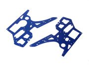 Side Panels(Blue) - Super Rider SR4 1/4 Scale Brushless RC Motorcycle