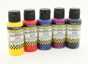 Vallejo Premium Color Acrylic Paint - Candy Color Selection (5 x 60ml) (UK Warehouse)