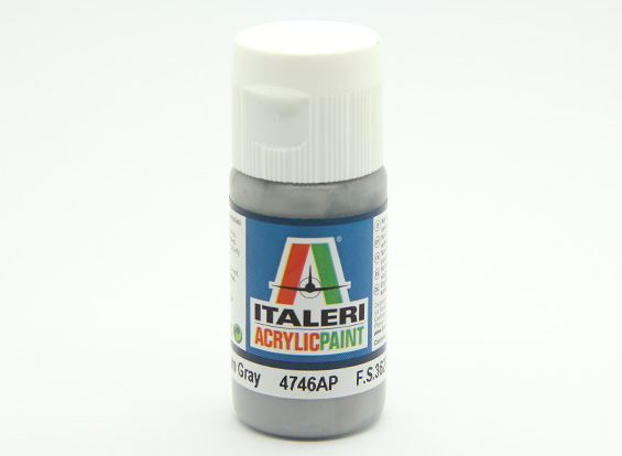 Italeri Acrylic Paint - Flat Medium Gray (AR Warehouse)