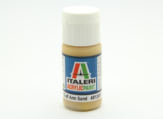 Italeri Acrylic Paint - Flat Gulf Arm Sand (AU Warehouse)