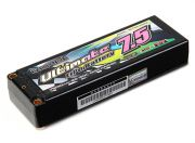 Turnigy nano-tech Ultimate 7500mah 2S2P 90C Hardcase Lipo Pack (ROAR & BRCA Approved) (AR Warehouse)