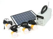 HT-731 Solar Power System w/FM Radio (EU Warehouse)