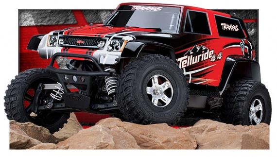 Traxxas Telluride 4X4 Etreme Terrain 4WD Trail Rig